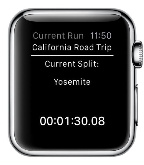 Z Split for Apple Watch